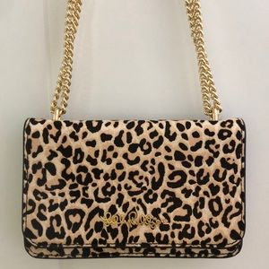 Lilly Pulitzer Calf Hair Leopard Bag